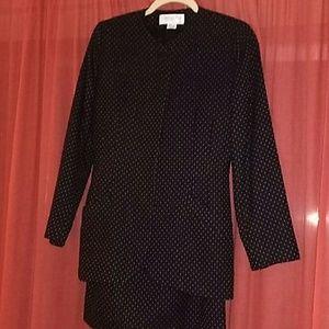 Christian Dior suit.